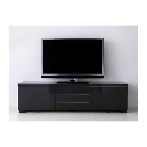 125 Best Tv Images On Pinterest | Tv Units, Tv Walls And Live throughout Newest Black Tv Cabinets With Drawers