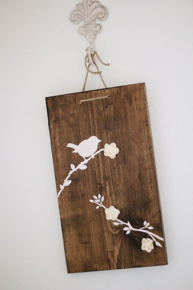 127 Best Wood Stain Art Images On Pinterest | Wood Stain, Diy And With Stained Wood Wall Art (Image 1 of 20)