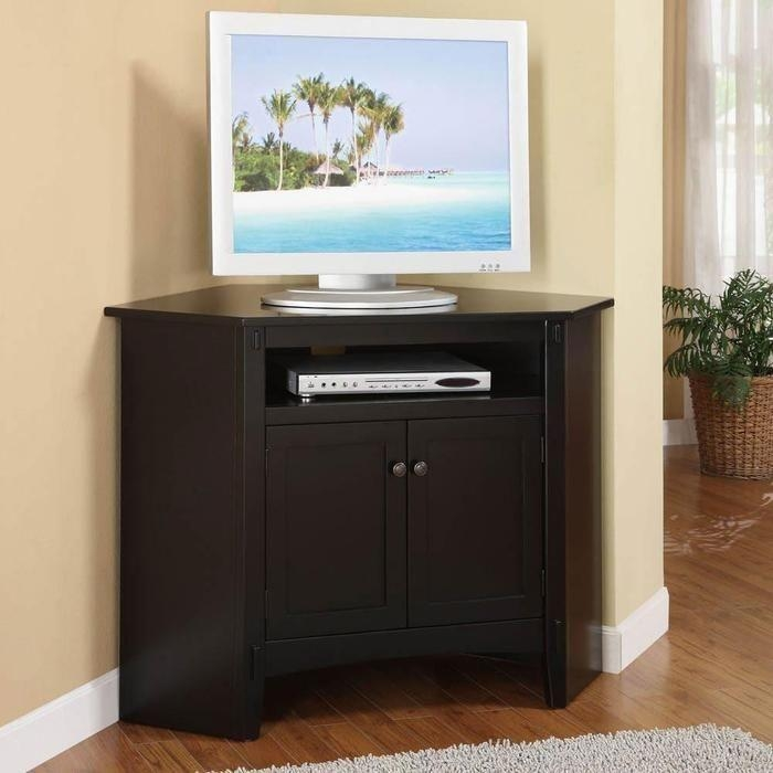 13 Best Tv Stands Images On Pinterest | Corner Tv Stands, Living Pertaining To Newest Corner Tv Tables Stands (Image 1 of 20)