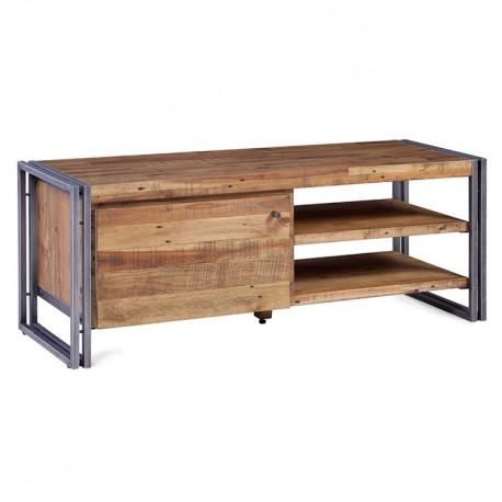 130 Wood And Metal Kosyform Tv Stand regarding Most Up-to-Date Metal and Wood Tv Stands