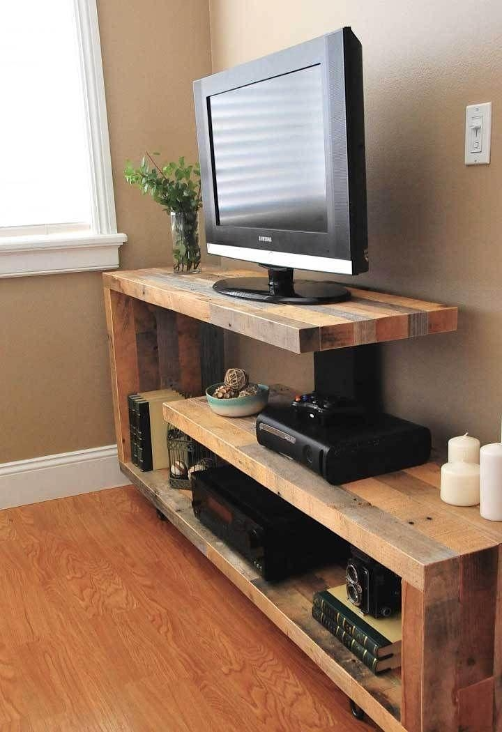 132 Best ***diy Tv Stand*** Images On Pinterest | Diy Tv Stand With 2018 Tv With Stands (Image 1 of 20)
