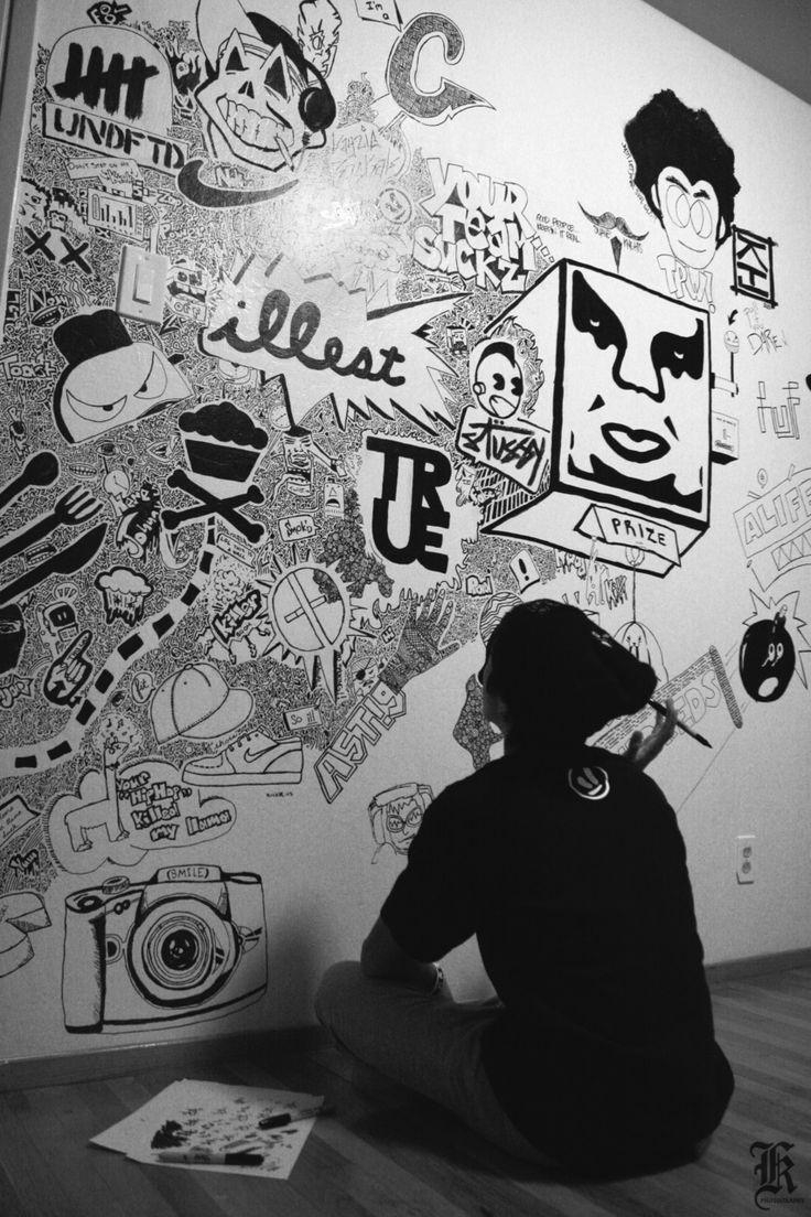 134 Best Sharpie Marker Art, Artists, Tips And Techniques Images Inside Sharpie Wall Art (Image 1 of 20)