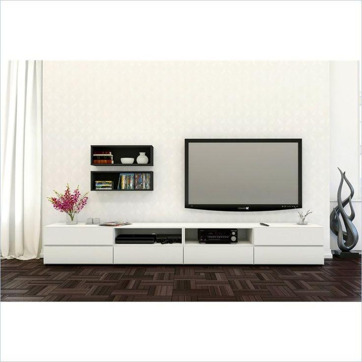 139 Best Tv Nook Images On Pinterest | Tv Nook, Tv Stands And Nooks Inside Most Recent Nexera Tv Stands (Image 3 of 20)