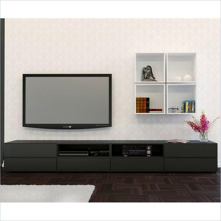 139 Best Tv Nook Images On Pinterest | Tv Nook, Tv Stands And Nooks Within Most Recently Released Nexera Tv Stands (Image 4 of 20)