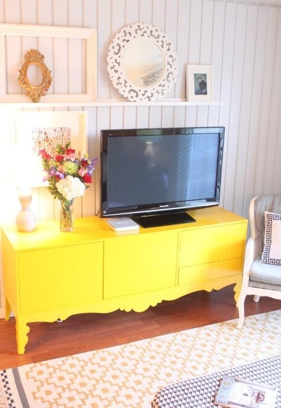 14 Best Entertainment Center Images On Pinterest | Entertainment regarding 2018 Yellow Tv Stands