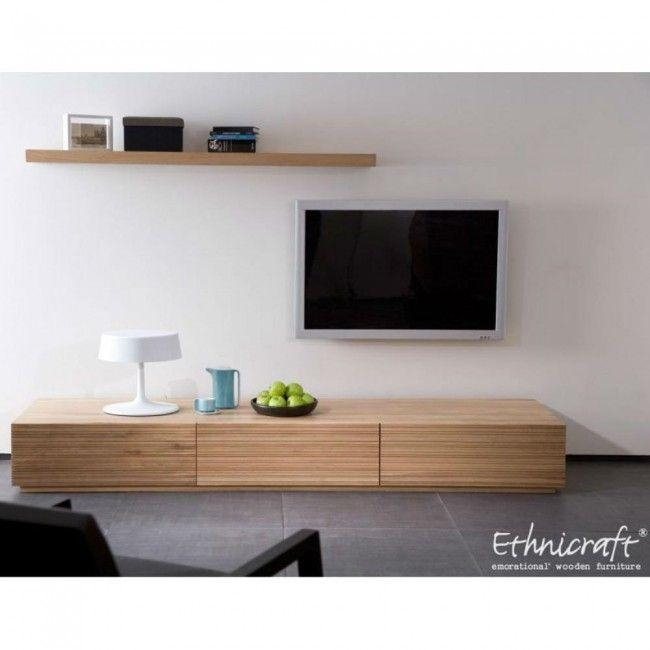 14 Best Living Room Design Images On Pinterest | Living Room Ideas In Latest Long Low Tv Cabinets (Image 1 of 20)