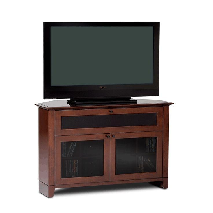 14 Best Tv Stands Images On Pinterest | Corner Tv Stands, Flat Regarding Most Up To Date 50 Inch Corner Tv Cabinets (Image 1 of 20)