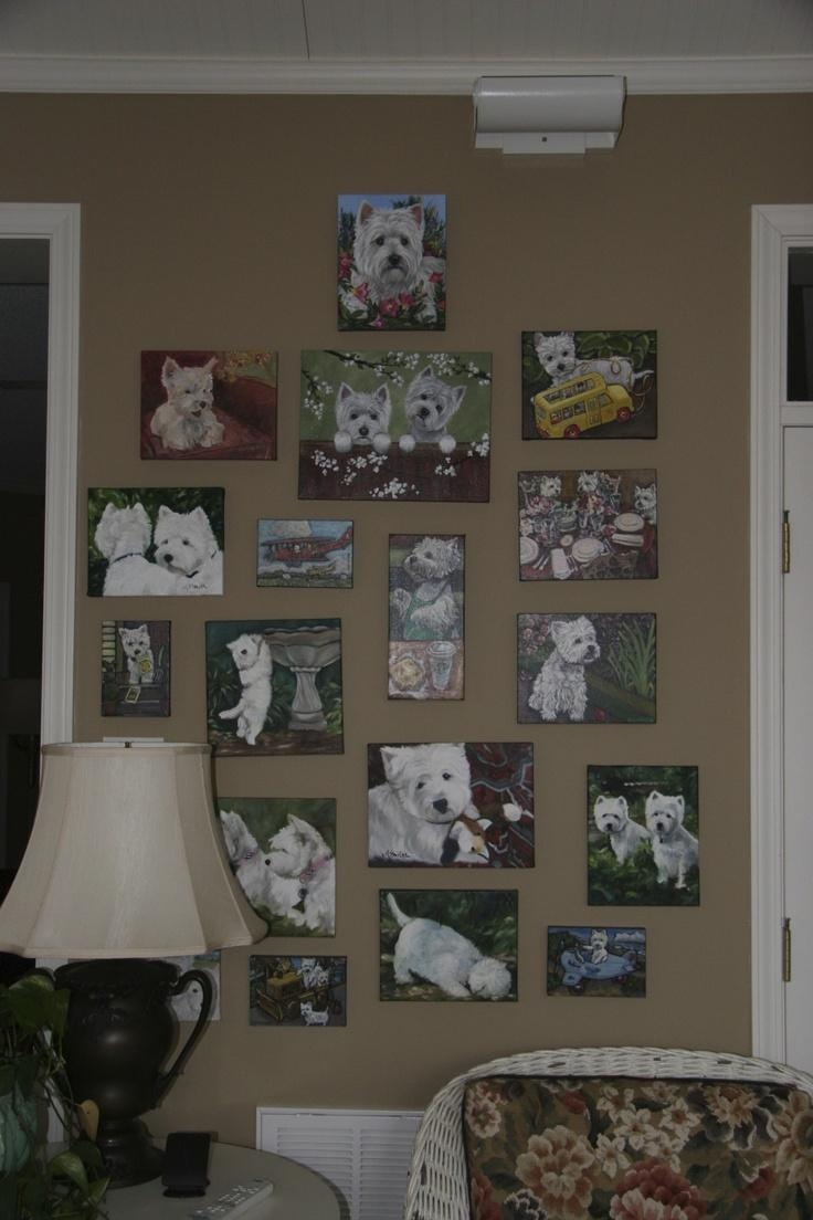 142 Best Westies Images On Pinterest | Westies, West Highland Intended For Westie Wall Art (View 13 of 20)