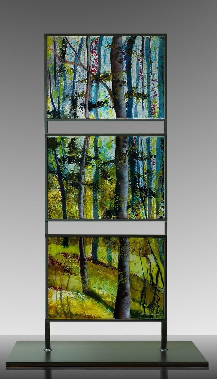 145 Best Fused Glass – Landscapes Images On Pinterest | Fused With Fused Glass Wall Art Manchester (View 15 of 20)