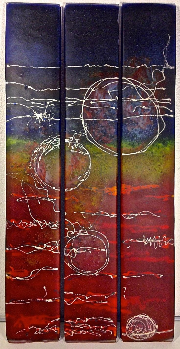 147 Best Glasfusing Images On Pinterest   Stained Glass, Glass And Throughout Fused Glass Wall Art Devon (Image 2 of 20)