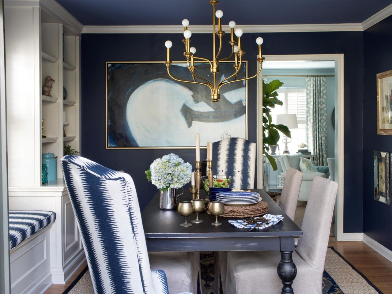 15 Ways To Dress Up Your Dining Room Walls | Hgtv's Decorating With Formal Dining Room Wall Art (View 2 of 20)