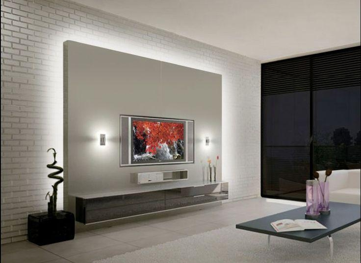 153 Best Tv Images On Pinterest | Tv Walls, Tv Units And Woodwork Inside Best And Newest Tv Cabinets Contemporary Design (Image 2 of 20)