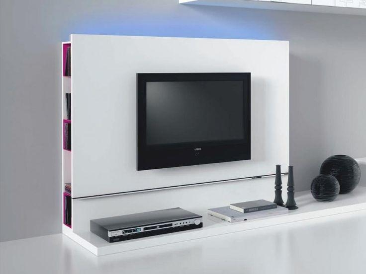 16 Best Tv Racks Images On Pinterest | Furniture, Media Consoles Within Best And Newest Plasma Tv Holders (Image 2 of 20)