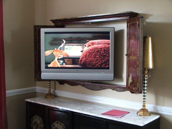 16 Best Wall Mounted Tv Cabinets Images On Pinterest | Wall For Best And Newest Wall Mounted Tv Cabinets For Flat Screens With Doors (Image 2 of 20)