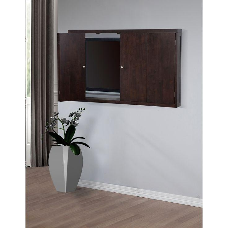 16 Best Wall Mounted Tv Cabinets Images On Pinterest | Wall With Regard To Most Popular Wall Mounted Tv Cabinets For Flat Screens With Doors (Image 3 of 20)