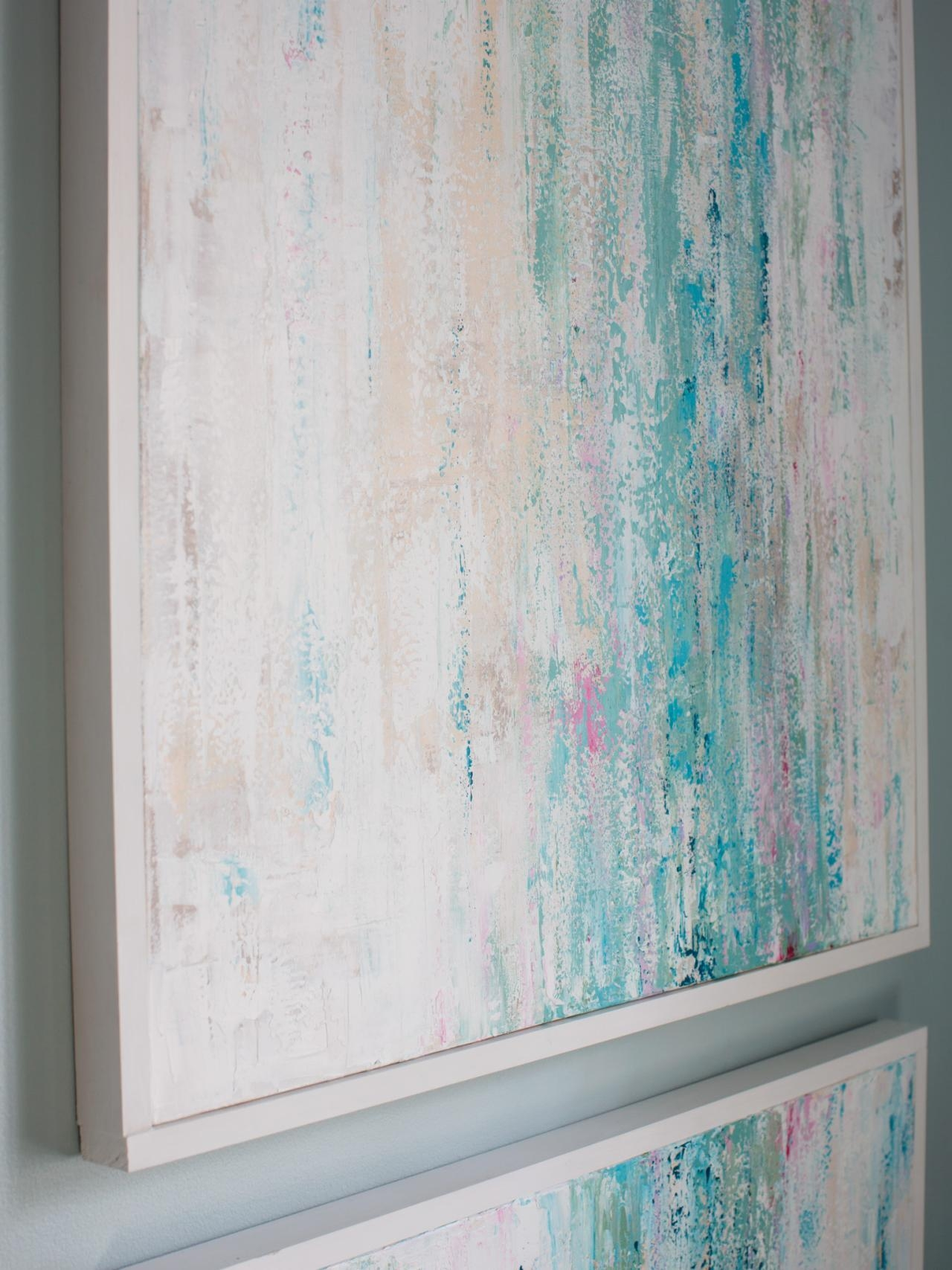 18 Genius Wall Decor Ideas | Hgtv's Decorating & Design Blog | Hgtv Within Paint Swatch Wall Art (Image 2 of 20)