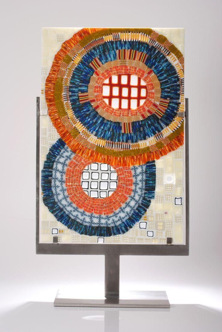 185 Best Glass Art – Giles Bettison Images On Pinterest | Fused For Contemporary Fused Glass Wall Art (Image 2 of 20)