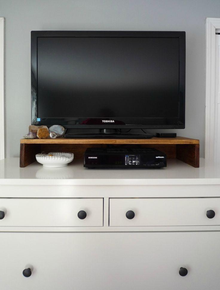 19 Best Tabletop Tv Stands Images On Pinterest | Tv Stands Pertaining To Newest Tv Stands Over Cable Box (View 5 of 20)
