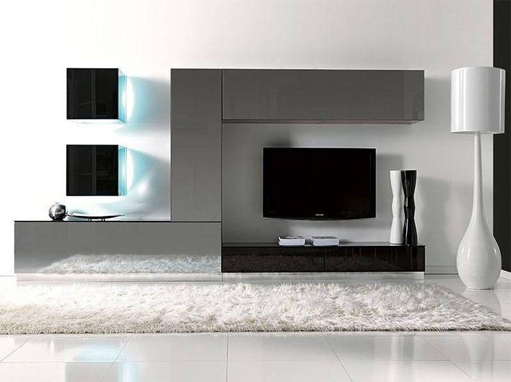 20 Top Black Gloss Tv Wall Unit Tv Cabinet And Stand Ideas