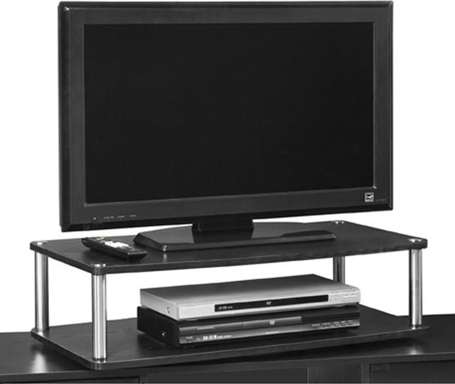 2 Tier Swivel Stand – Contemporary – Entertainment Centers And Tv With Regard To Most Recently Released Double Tv Stands (Image 1 of 20)