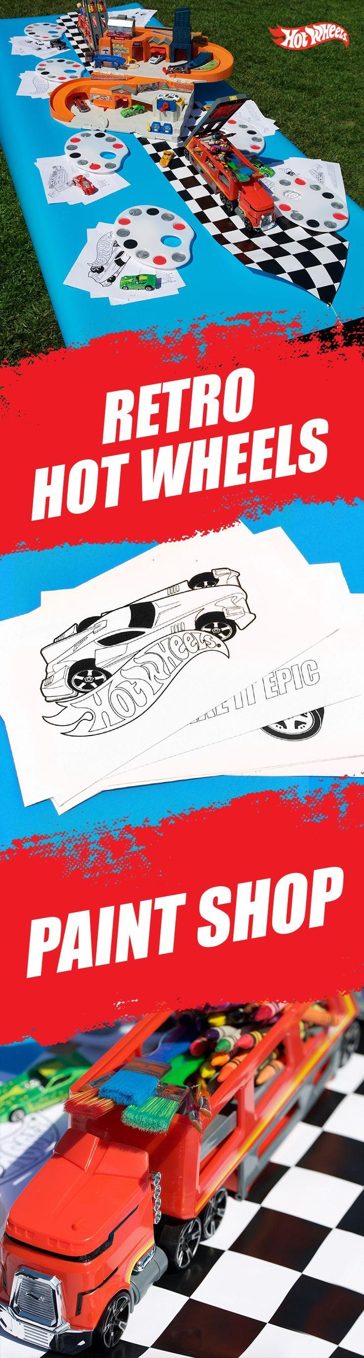 200 Best Fast, Fun Arts & Crafts Images On Pinterest | Kids Crafts Pertaining To Hot Wheels Wall Art (Image 3 of 20)