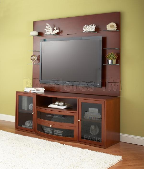 2000 Series Contemporary Tv Cabinet Wall Unit – $3, (Image 1 of 20)