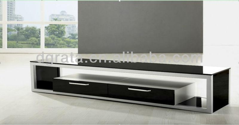 2013 Fancy Design Tv Stand Is Madestainless Steel And Tempered Intended For Most Current Fancy Tv Stands (Image 1 of 20)
