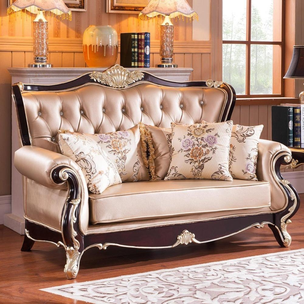 2015 New Style Leather Sofa Living Room Furniture Sofa Seats In European Leather Sofas (View 2 of 21)