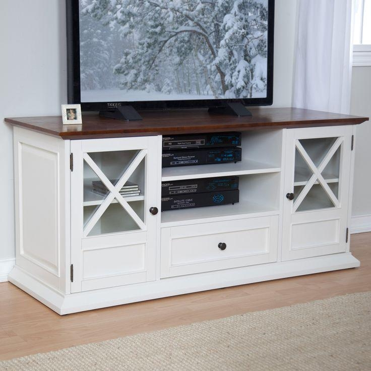 21 Best Tv Stands Images On Pinterest | Tv Stands, Media Consoles In Most Popular White Wood Tv Stands (Image 1 of 20)