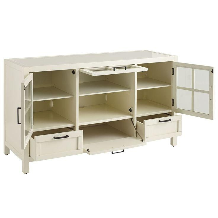 21 Best Tv Stands Images On Pinterest | Tv Stands, Media Consoles Intended For Most Popular Cast Iron Tv Stands (Image 2 of 20)