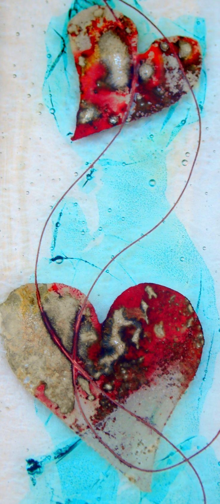 2176 Best Glass / Fused /dicro And Pmc Images On Pinterest Pertaining To Fused Glass Wall Art Devon (Image 9 of 20)