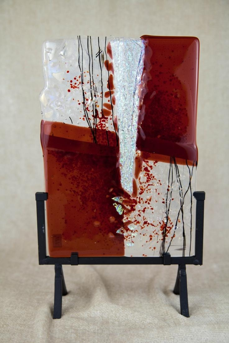 218 Best Art Glass – Fused Images On Pinterest | Stained Glass Regarding Fused Dichroic Glass Wall Art (View 18 of 20)