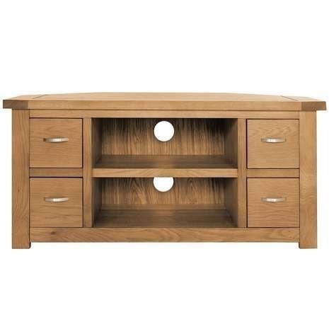 22 Best Corner Tv Cabinets Images On Pinterest | Corner Tv For Most Up To Date Oak Corner Tv Cabinets (Image 1 of 20)