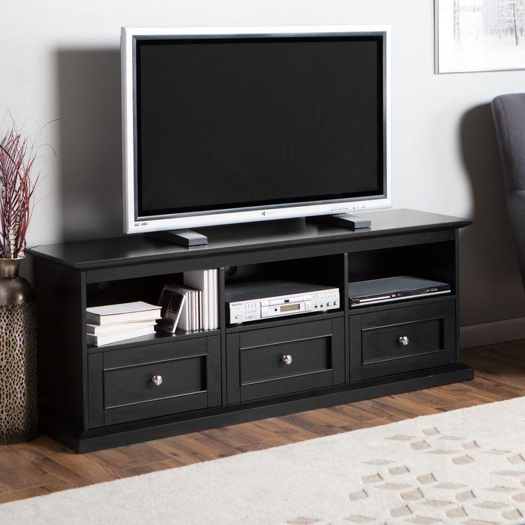 22 Best Entertainment Center Images On Pinterest | Entertainment Intended For Recent Black Tv Stands With Drawers (Image 2 of 20)