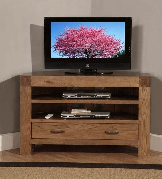 23 Best Oak Corner Tv Stand Images On Pinterest | Corner Tv Stands Inside 2017 Corner Tv Stands With Drawers (Image 1 of 20)