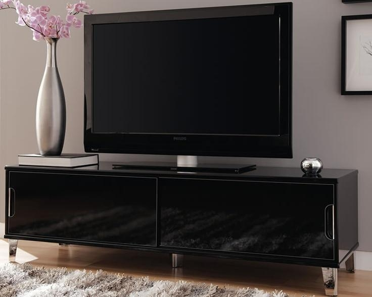 23 Best Tv Entertainment Images On Pinterest | Flat Screen Tvs Regarding Current Large Black Tv Unit (Image 2 of 20)