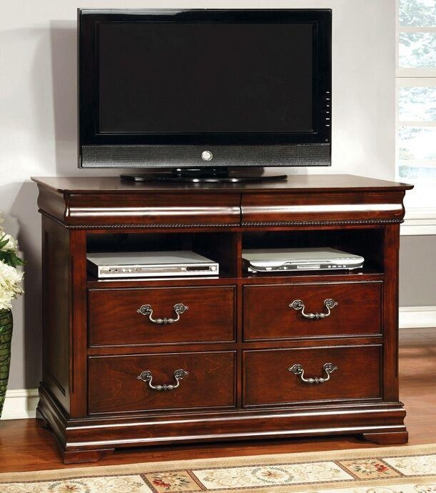 23 Best Tv Stands Images On Pinterest | Wood Tv Stands, Tv Stands Regarding Most Recently Released Cherry Wood Tv Cabinets (Image 2 of 20)