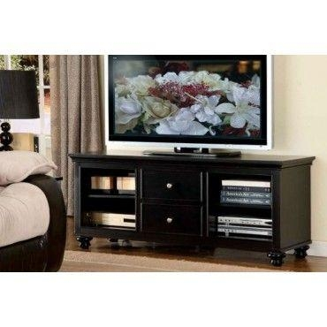23 Best Tv Stands/media Console Images On Pinterest | Tv Stands Inside Newest Solid Wood Black Tv Stands (Image 1 of 20)