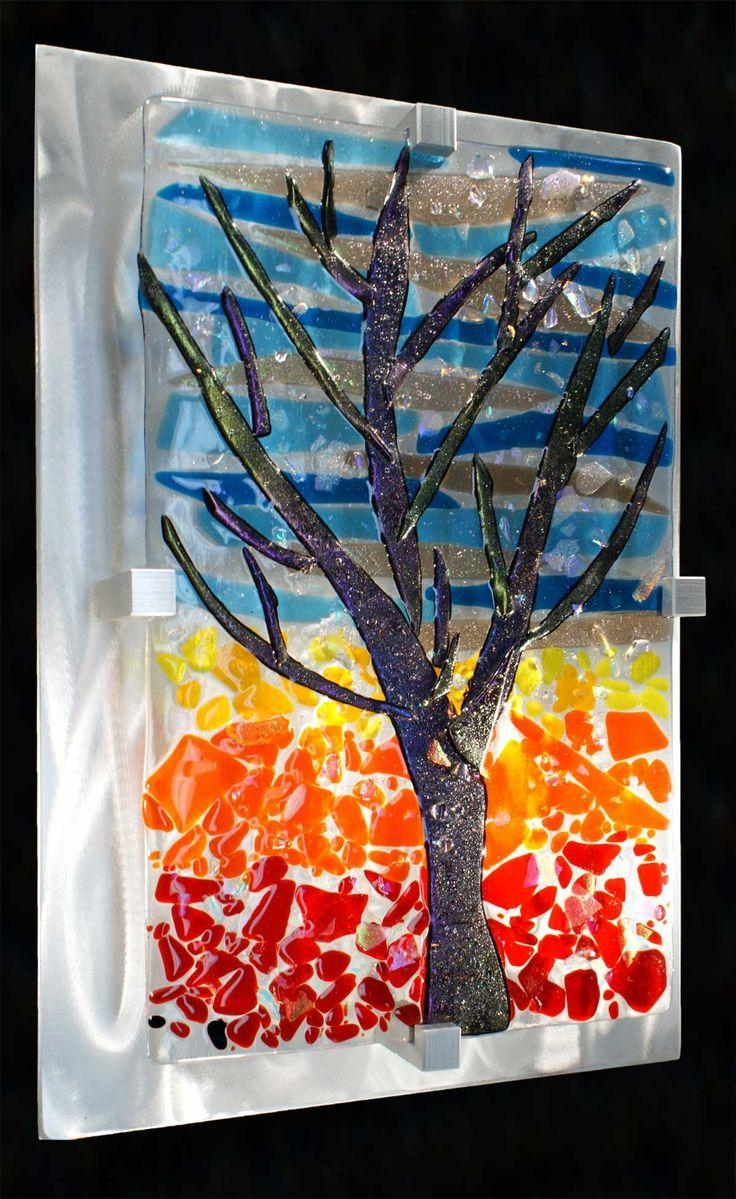 24 Best Fused Glass Art Images On Pinterest | Glass Walls, Stained With Regard To Contemporary Fused Glass Wall Art (Image 7 of 20)