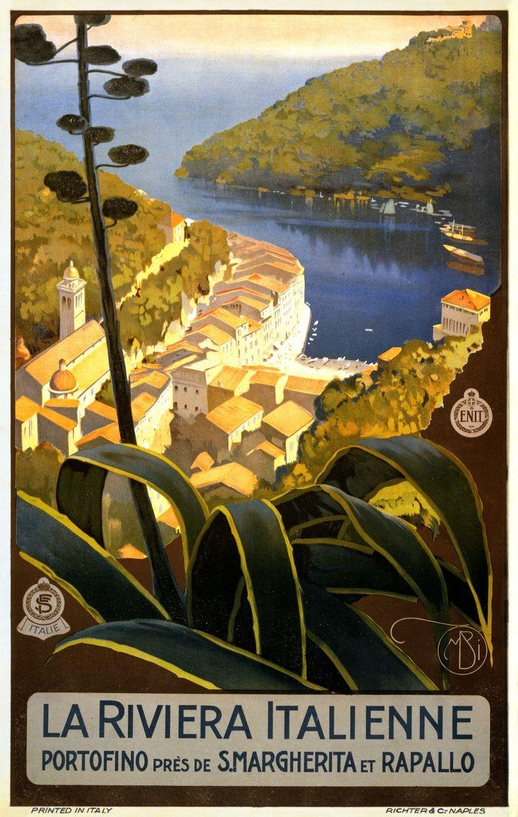 24 Best Vintage Travel Posters Images On Pinterest | Vintage With Regard To Italian Travel Wall Art (Image 1 of 20)