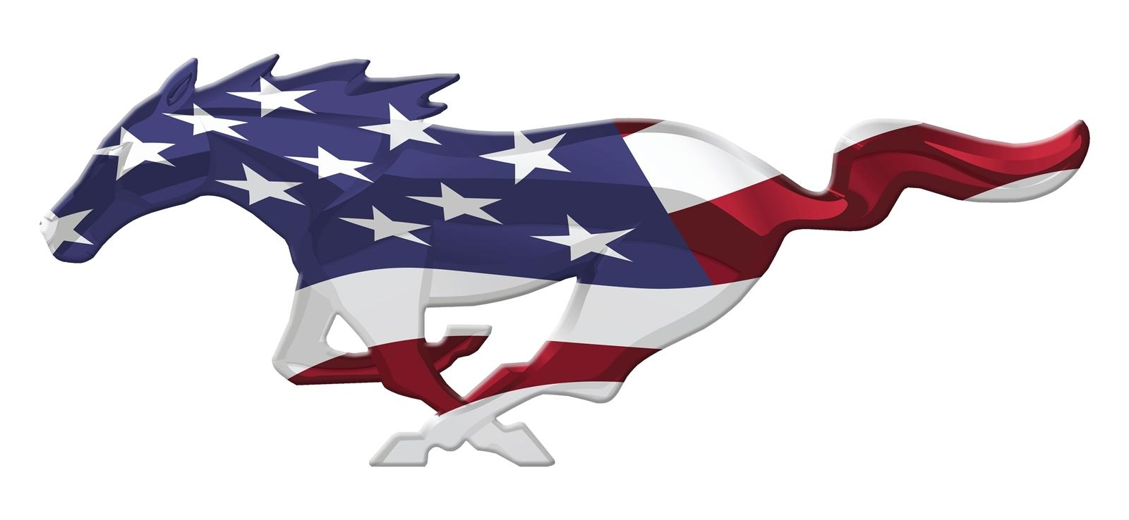 "24"" Usa Mustang Unites Cutout Running Horse Sign 