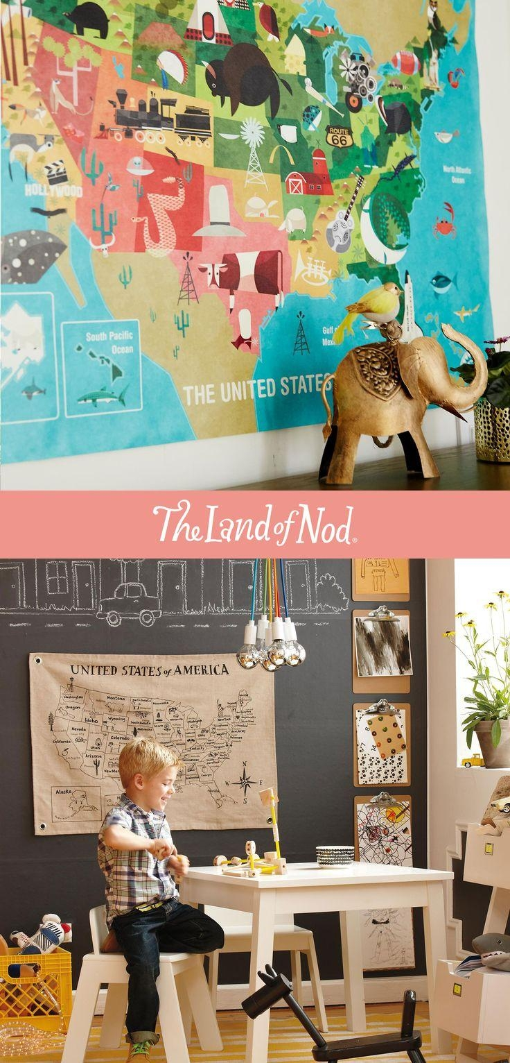 245 Best Nod: On The Wall Images On Pinterest | Land Of Nod, The Pertaining To Land Of Nod Wall Art (Image 1 of 7)