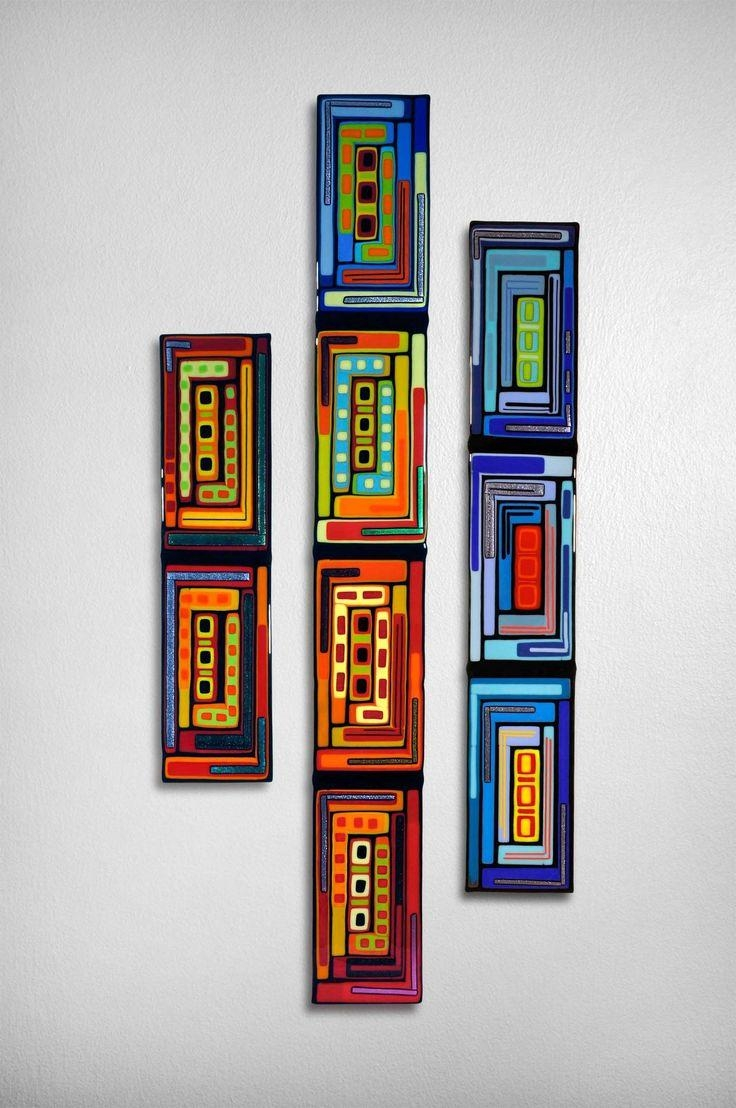 246 Best Glass Art Images On Pinterest | Fused Glass, Glass Art With Fused Glass Wall Artwork (Image 4 of 20)