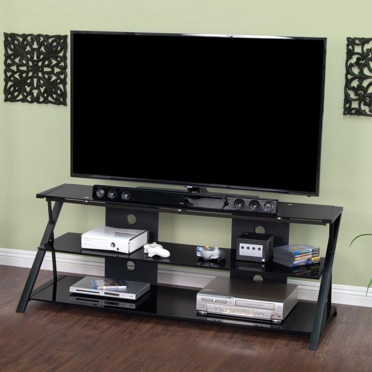 25 Best Calico Designs Modern Metal & Glass Tv Standsstudio Inside Most Recently Released Sleek Tv Stands (Image 1 of 20)