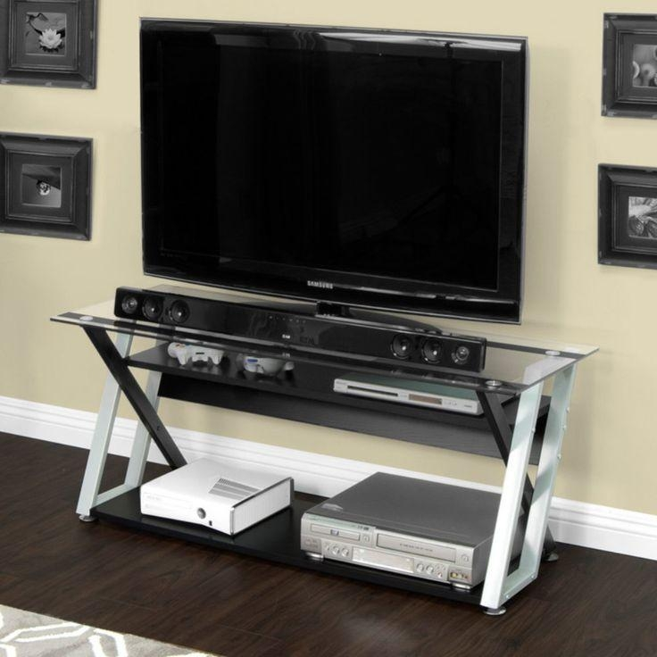 25 Best Calico Designs Modern Metal & Glass Tv Standsstudio Intended For Most Current Sleek Tv Stands (Image 2 of 20)