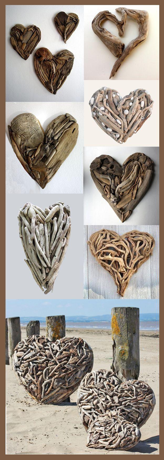25+ Best Driftwood Art Ideas On Pinterest | Driftwood Crafts Intended For Driftwood Heart Wall Art (View 9 of 20)