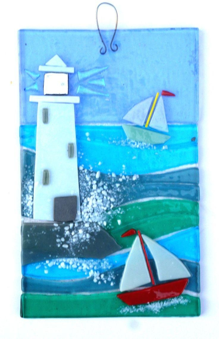 25+ Best Glass Wall Art Ideas On Pinterest   Glass Art, Fused For Fused Dichroic Glass Wall Art (View 19 of 20)