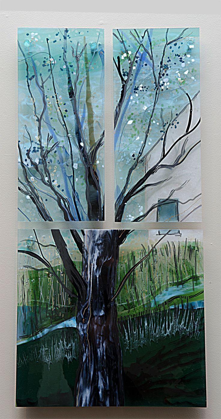 25+ Best Glass Wall Art Ideas On Pinterest | Glass Art, Fused Intended For Framed Fused Glass Wall Art (View 13 of 20)