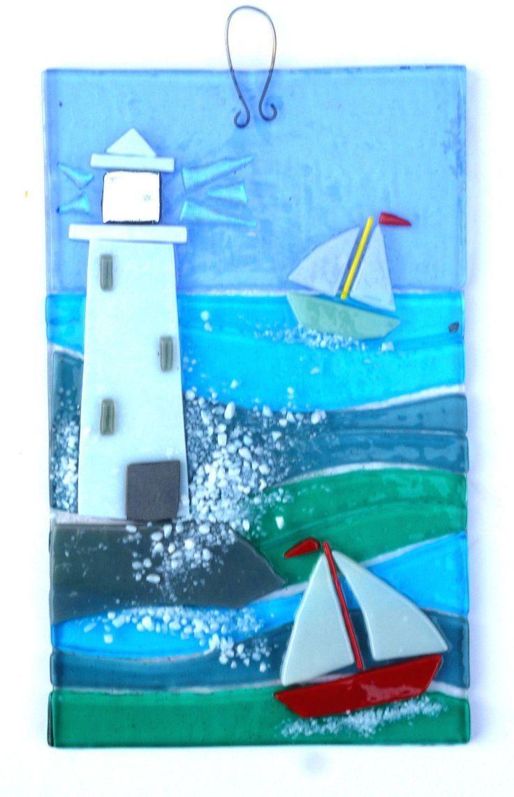 25+ Best Glass Wall Art Ideas On Pinterest | Glass Art, Fused Within Framed Fused Glass Wall Art (View 15 of 20)