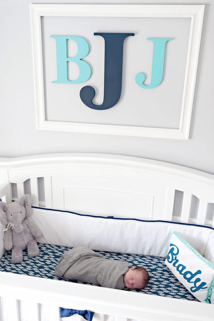 25+ Best Monogram Wall Decorations Ideas On Pinterest | Burlap For Monogrammed Wall Art (Image 2 of 20)